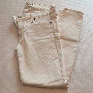 Textile Elizabeth and James Off-White Skinny Jeans